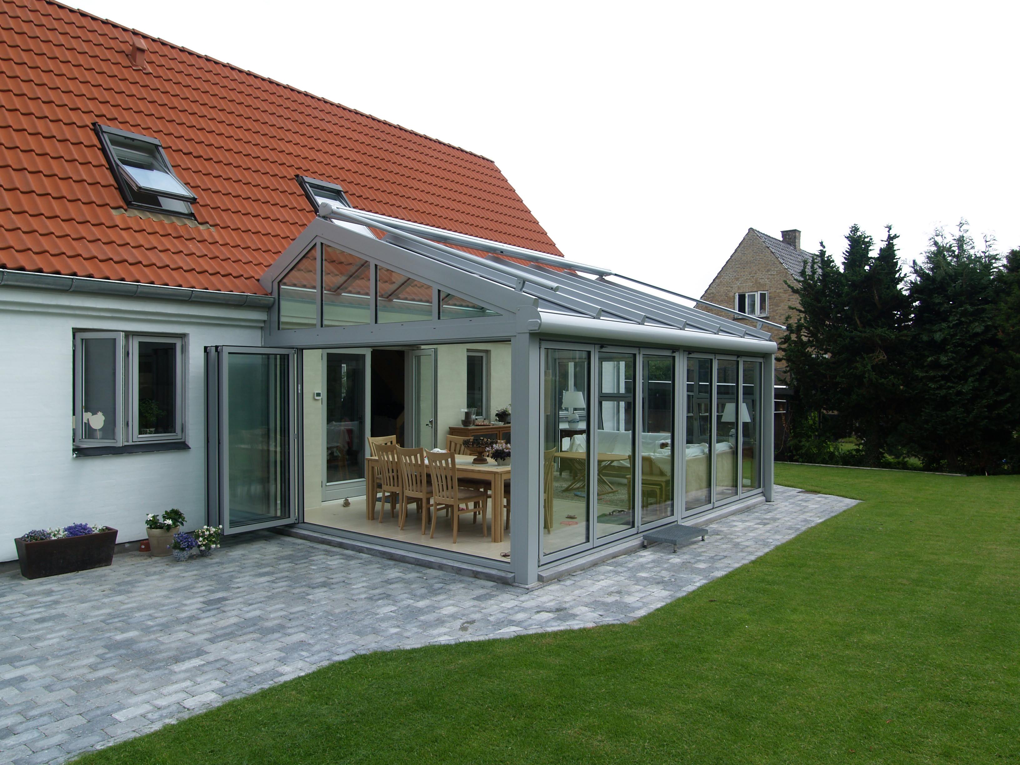 Solarlux Akzent Plus - Vinterhave - Glastilbygning