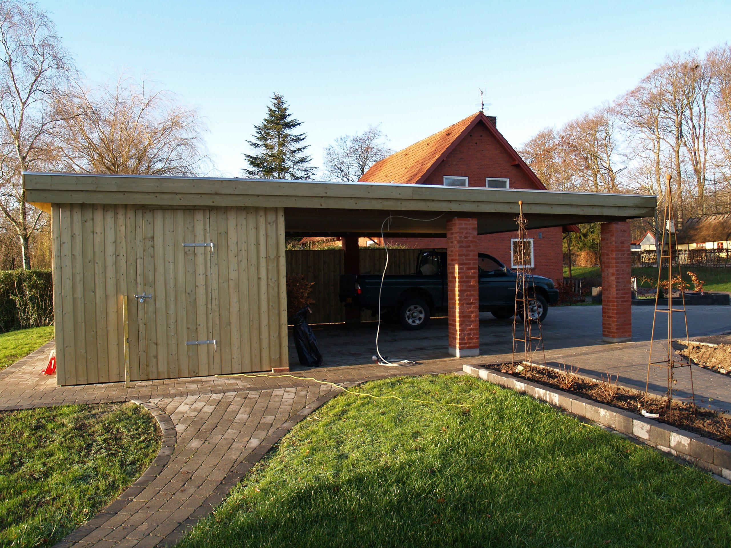 Selv garage priser byg Carporte og