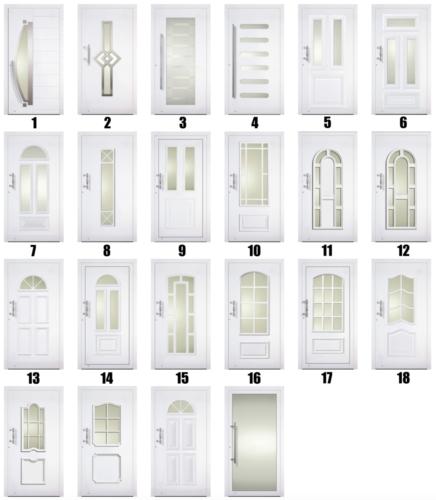 Facadedørstyper - Lito Byg - 1