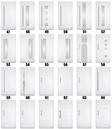 Facadedørstyper - Lito Byg - 2