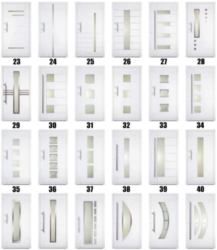 Facadedørstyper - Lito Byg - 3