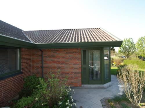 Tilbygning i samme stil som hus